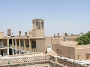 private Iran tour Yazd Wind Catchers-