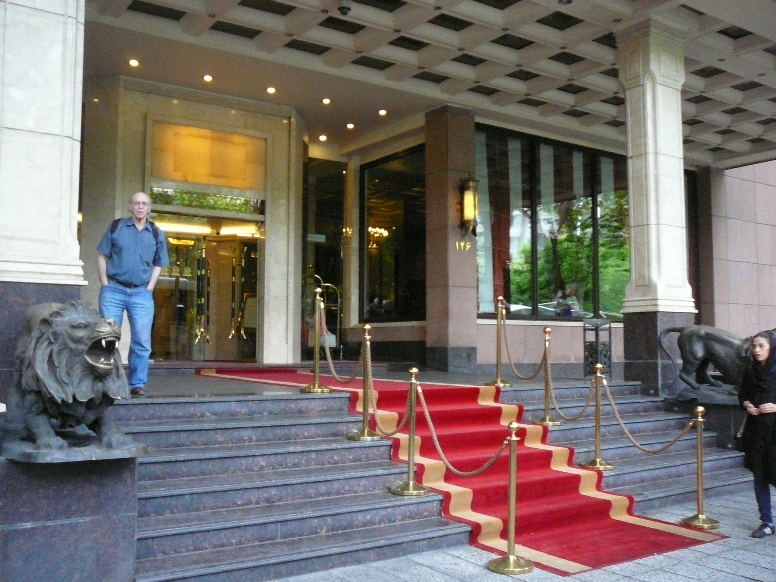 Iran Luxury Travel  Espinas Hotel In Tehran