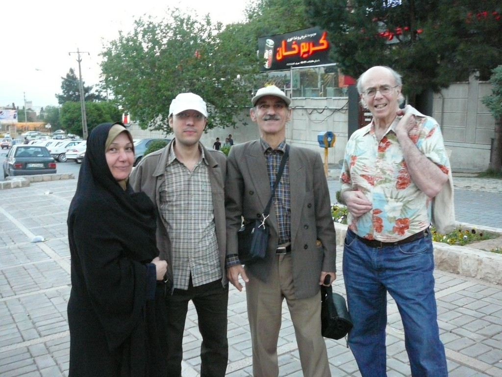 Iran Travelogue - Meeting other Tourists in Shiraz