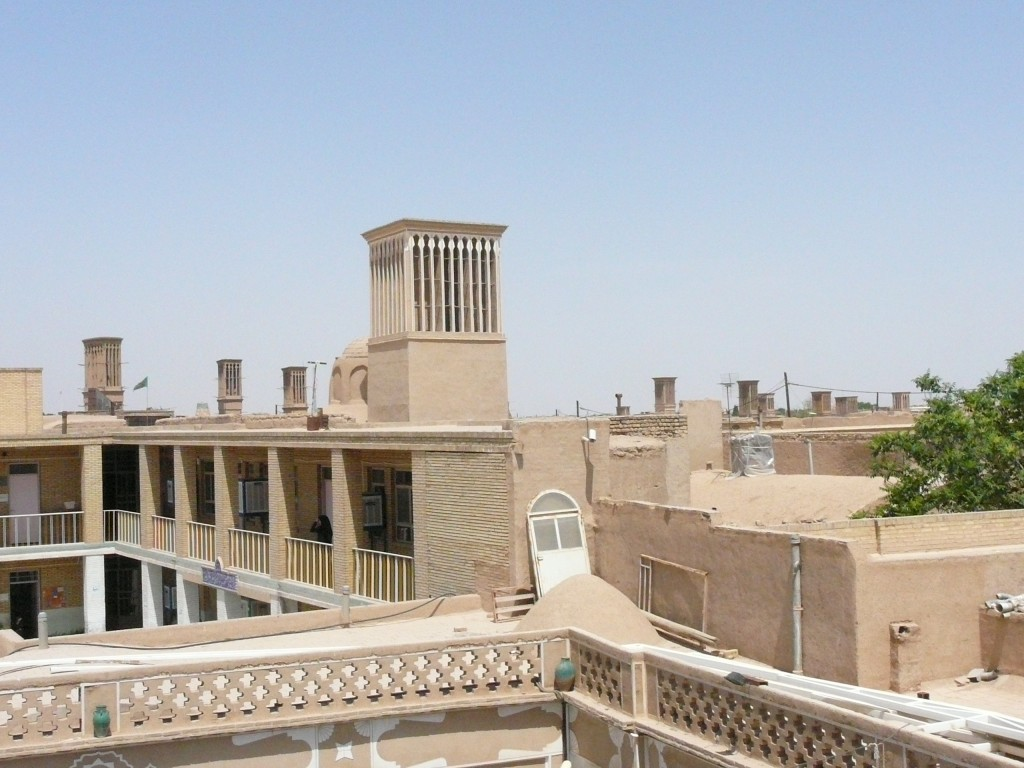 yazd city wind catchers - Wind Catchers in Yazd