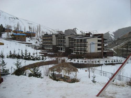 skiing Iran - Dizin_Hotel