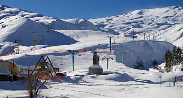 Skiing in Iran - Dizin_Hotel_view