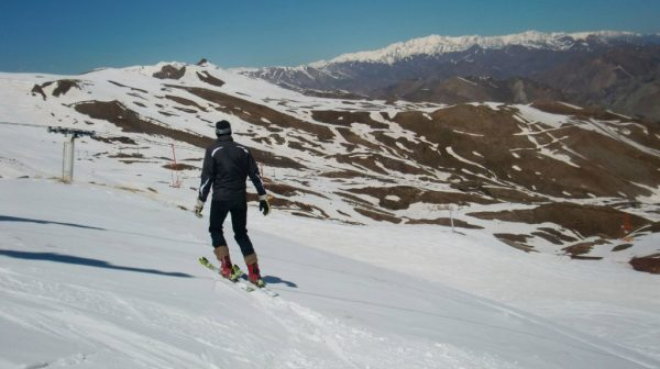 skiing in Iran