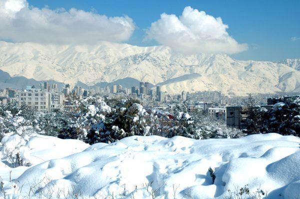 Skiing in Iran - Tochal-Tehran