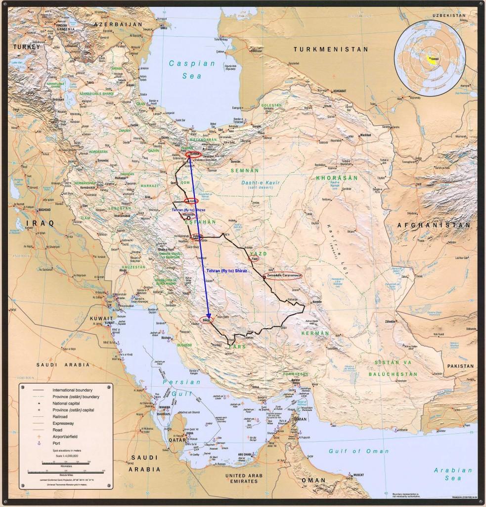 IranTourMap2-Classic