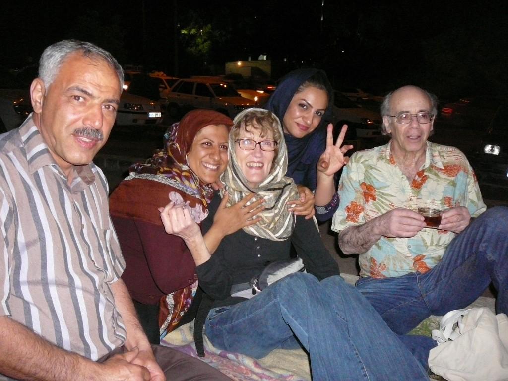 Iran Travelogue - Touring Shiraz at Nite
