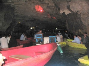 The Ali Sadr Cave - Iran Luxury Travel Boat riding in Ali Sadr Cave