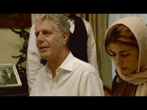 Anthony Bourdain: Iran not what I expected