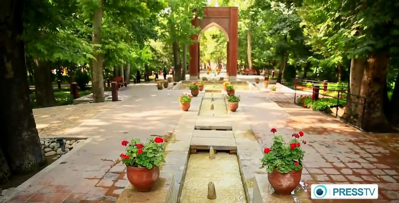 Iran Persian Garden Designs