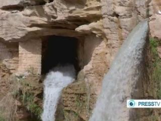 Shushtar Historical Watermills - Hydraulic System